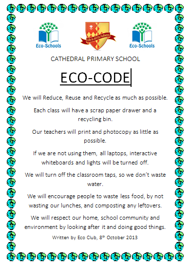 Our New Eco Code Eco Clubs Blog