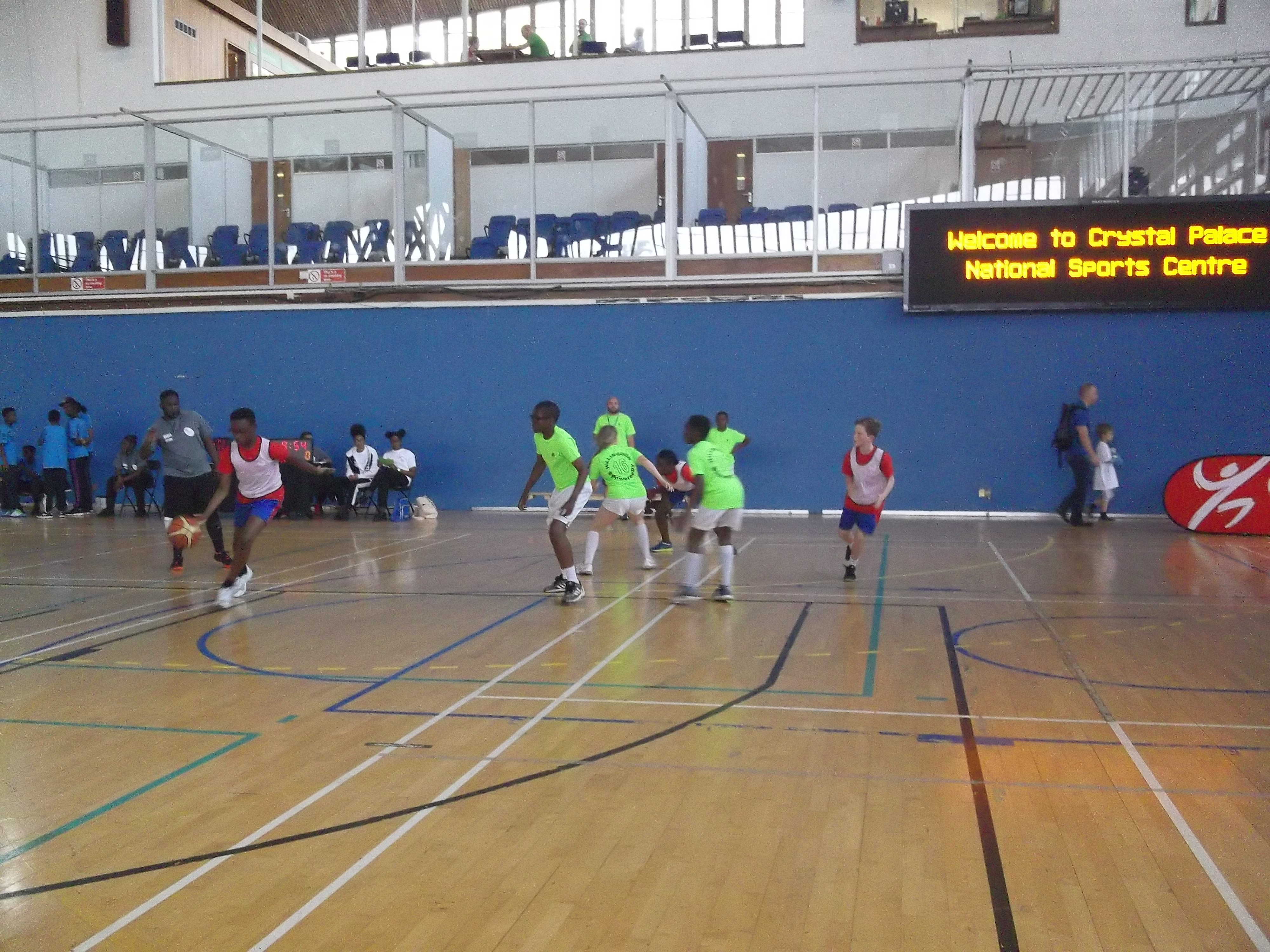 London Youth Games Basketball tournament