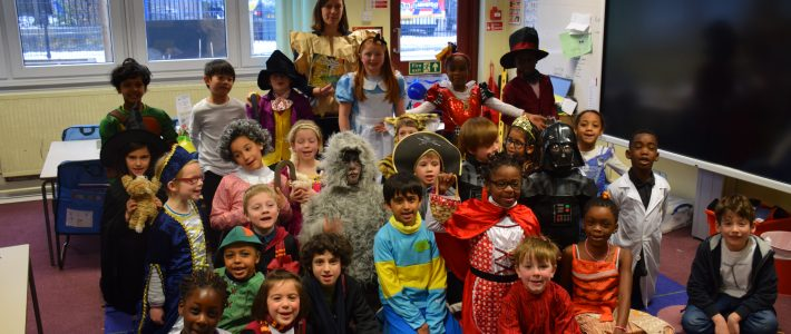 A Wintry World Book Day